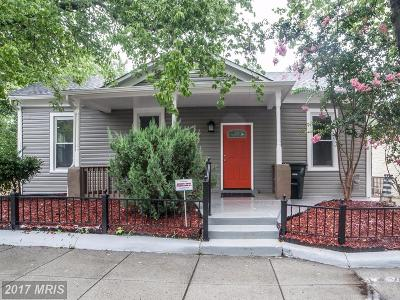 Washington DC Single Family Home For Sale: $439,900