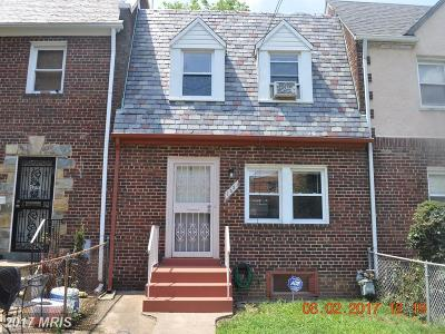 Washington Townhouse For Sale: 1431 19th Street SE