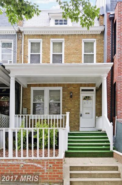 Washington Condo For Sale: 601 Longfellow Street NW