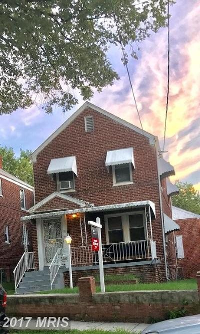 Riggs Park Single Family Home For Sale: 308 Oneida Street NE