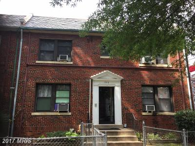 16th Street Heights, H Street Coridor, H Street Corridor Multi Family Home For Sale: 1353 Nicholson Street NW