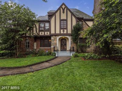 Washington Single Family Home For Sale: 4808 17th Street NW