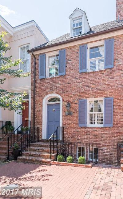 Washington Townhouse For Sale: 1510 33rd Street NW