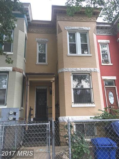 Eckington Condo For Sale: 1733 N. Capitol Street NE