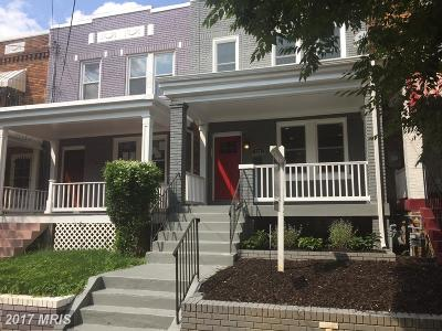 Washington Condo For Sale: 839 Decatur Street NW