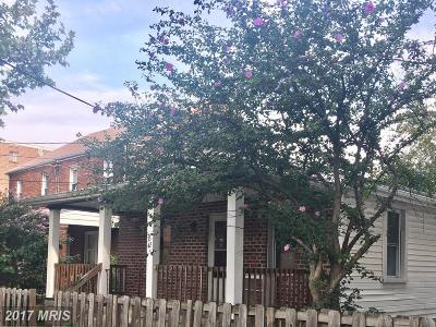 Washington Single Family Home For Sale: 3342 Ely Place SE