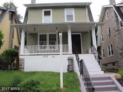 Single Family Home For Sale: 3725 26th Street NE