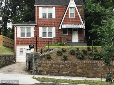 Washington Single Family Home For Sale: 2127 Branch Avenue SE