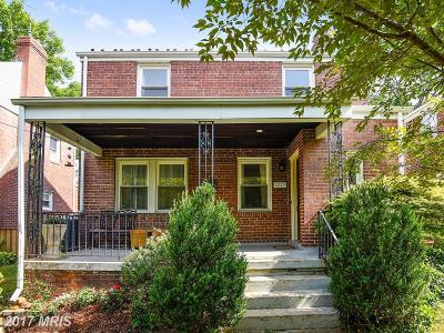 Washington Single Family Home For Sale: 1255 Van Buren Street NW