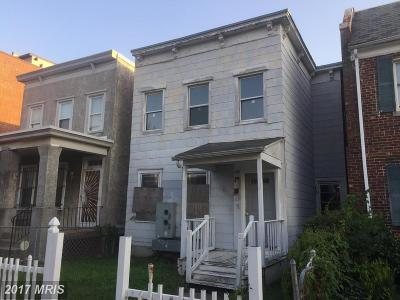 Washington Single Family Home For Sale: 1151 Oates Street NE