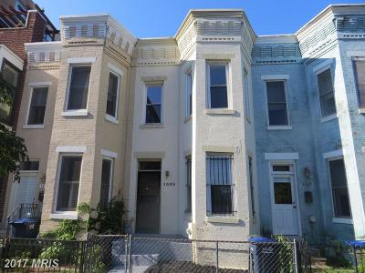 Washington DC Townhouse For Sale: $899,975