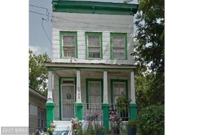 Washington Single Family Home For Sale: 2522 West Street SE