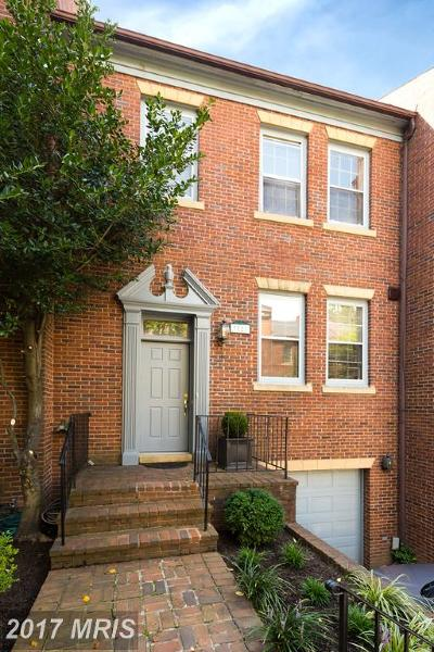 Washington DC Townhouse For Sale: $1,219,000