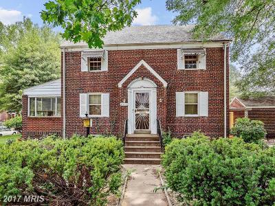 Single Family Home For Sale: 2011 Varnum Street NE