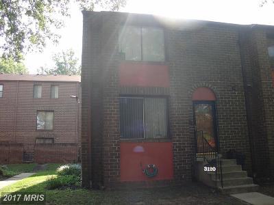 Fort Lincoln Condo For Sale: 3120 Cherry Road NE #37