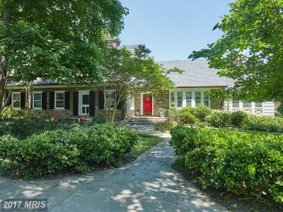Washington Single Family Home For Sale: 3201 Ellicott Street NW