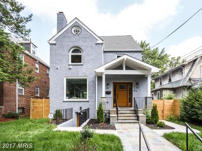Washington DC Single Family Home For Sale: $1,250,000