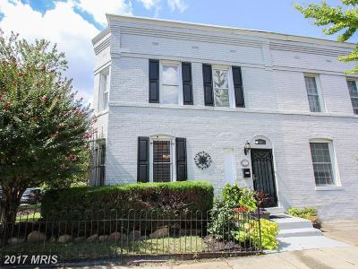 Washington Townhouse For Sale: 1257 Carrollsburg Place SW