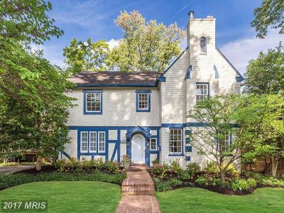 Washington Single Family Home For Sale: 2923 45th Street NW