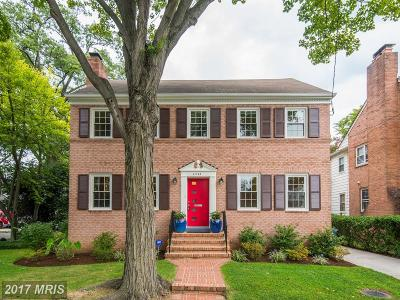 American University Park Single Family Home For Sale: 4543 Alton Place NW