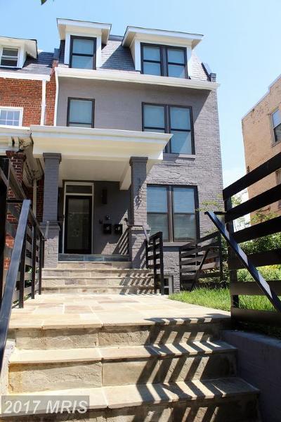 Washington Condo For Sale: 1307 Randolph Street NW #1