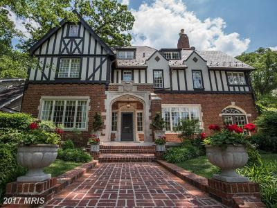 Crestwood Single Family Home For Sale: 4805 Blagden Avenue NW