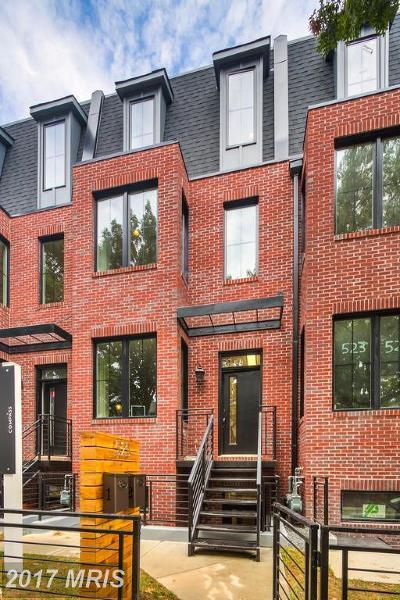 Washington Condo For Sale: 523 Longfellow Street NW #1