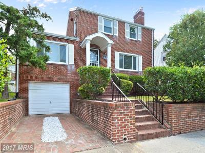 Brookland Single Family Home For Sale: 3821 17th Place NE