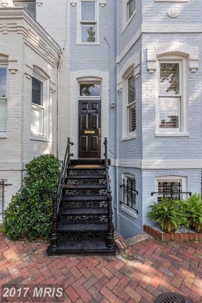 Washington Condo For Sale: 2907 Olive Street NW