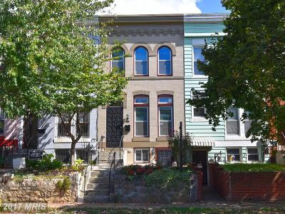 Washington DC Single Family Home For Sale: $895,000