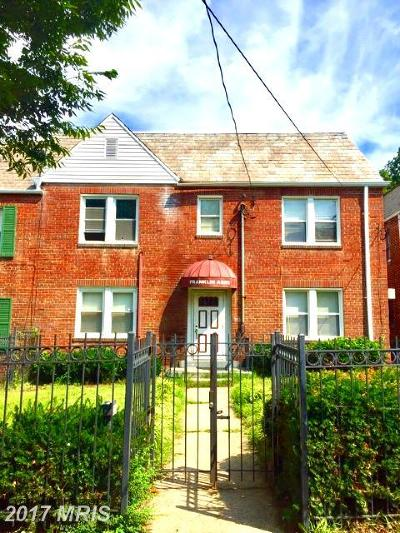 Petworth Multi Family Home For Sale: 317 Decatur Street NW