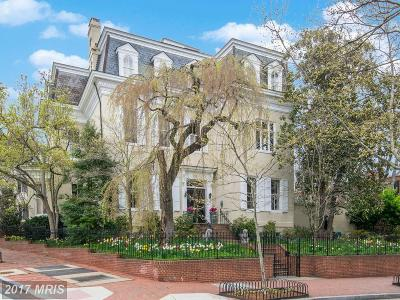 Washington Single Family Home For Sale: 3053 P Street NW