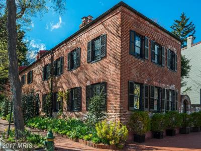 Georgetown Single Family Home For Sale: 3303 Volta Place NW