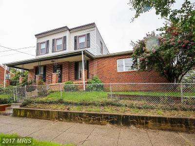 Anacostia Single Family Home For Sale: 1415 Howard Road SE