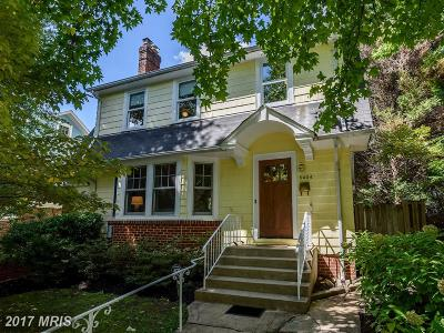 Chevy Chase Single Family Home For Sale: 5404 Nebraska Avenue NW