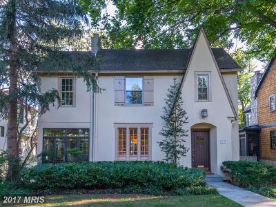 Washington Single Family Home For Sale: 4408 Klingle Street NW