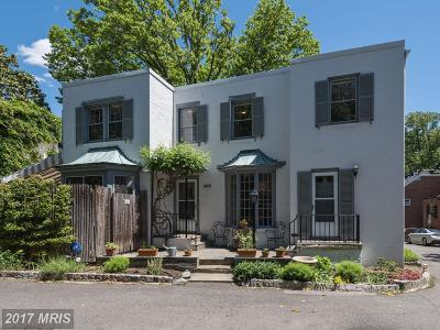 Georgetown Condo For Sale: 1601 Caton Place NW