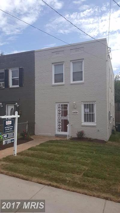 Washington Duplex For Sale: 3423 B Street SE