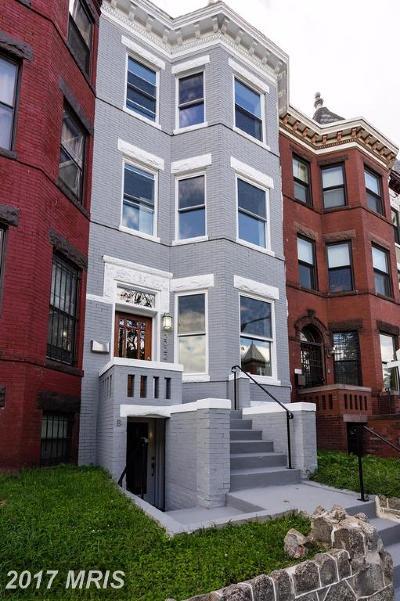 Ledroit Park Townhouse For Sale: 2022 1st Street NW