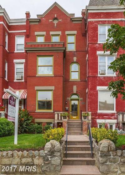 Washington Condo For Sale: 61 Bryant Street NW