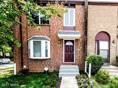 Congress Heights Townhouse For Sale: 1100 Barnaby Terrace SE