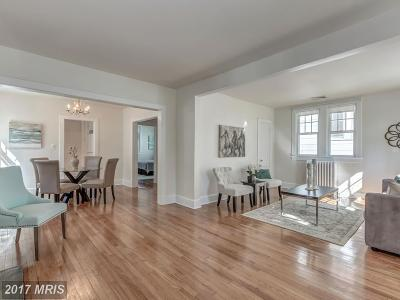 American University Park Single Family Home For Sale: 4914 44th Street NW