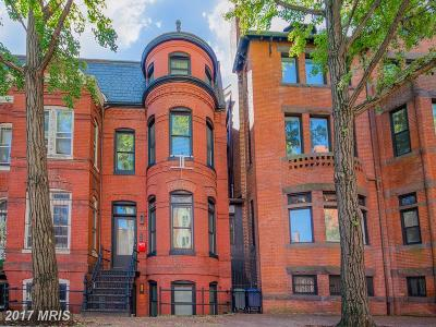 Dupont, Dupont - West End, Dupont Circle, Dupont/Downtown/Central, Dupont/Logan, Dupont/U St., Dupont/West End, Fort Dupont Park Single Family Home For Sale: 1538 Swann Street NW