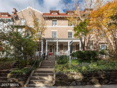 Washington Multi Family Home For Sale: 1835 Lamont Street NW