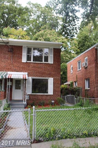 Washington Condo For Sale: 1531 Fort Dupont Street SE