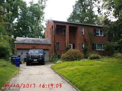 Single Family Home For Sale: 3030 Chestnut Street NW