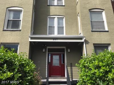 Washington Condo For Sale: 207 R Street NW #5