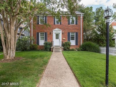 Washington DC Single Family Home For Sale: $899,000