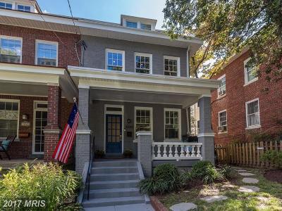 Washington Condo For Sale: 3044 Rodman Street NW