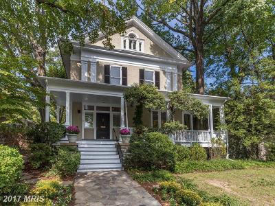 Cleveland Park Single Family Home For Sale: 3401 Newark Street NW